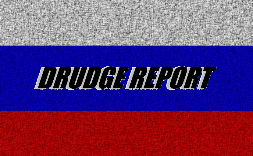 Drudge Report pipeline for Russian propaganda?