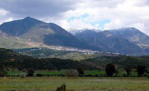 Rif Mountains in Morocco. Photo by Gabi, WIkipedia Commons.