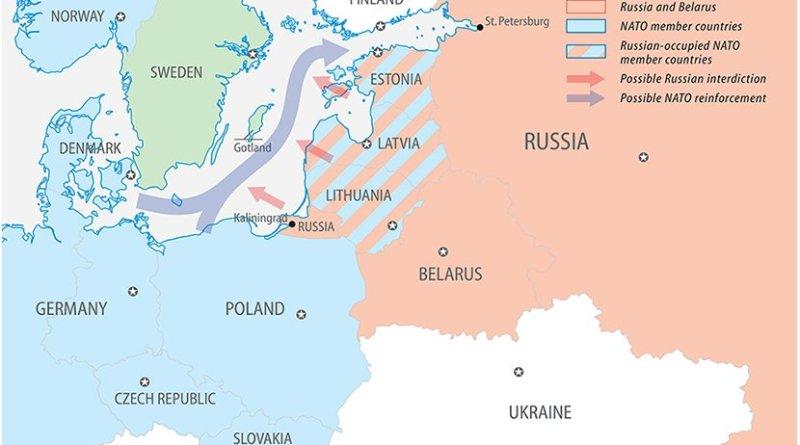 Sweden, NATO, the Baltics and Russia. Source: FPRI