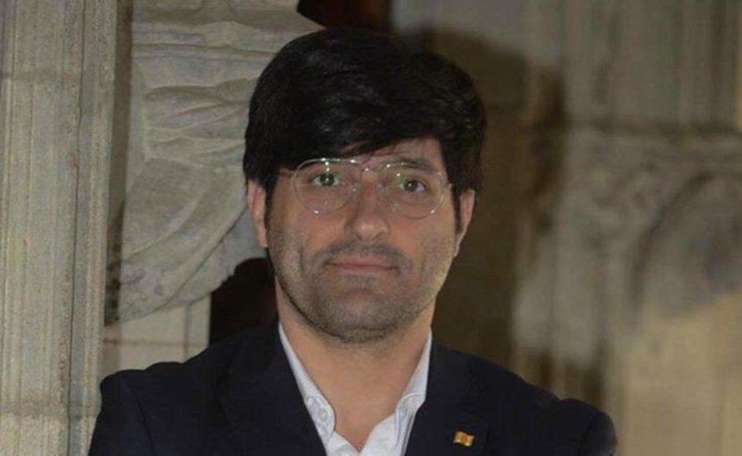 Joan Maria Piqué, director of international communications for the Government of Catalonia. Photo via EurActiv.com