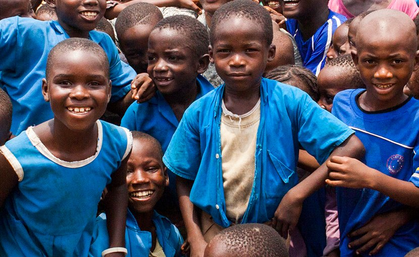 Cameroonian school children. Photo by SSG Justin Morelli, DoD.