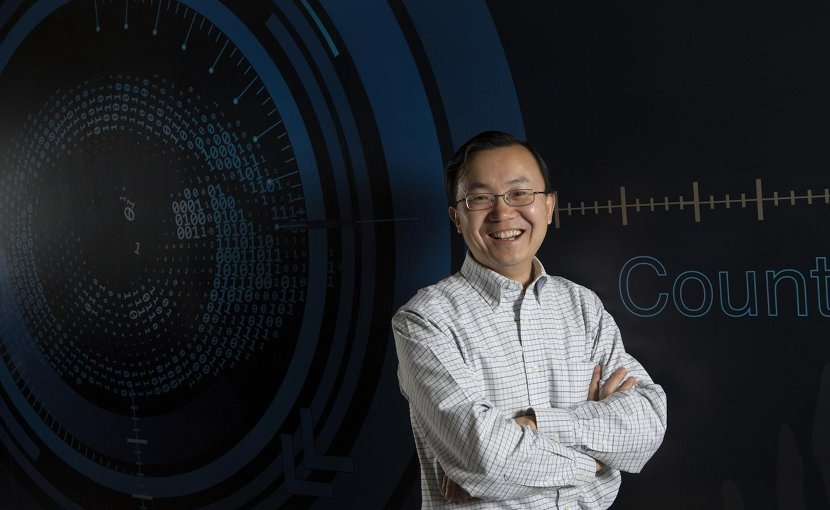 Binghamton University Professor of Computer Science Lijun Yin and his team created a new framework that interprets mouth gestures as a medium for interaction within virtual reality in real-time. Credit Binghamton University, State University of New York