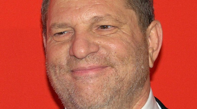 Harvey Weinstein. Photo by David Shankbone, Wikipedia Commons.