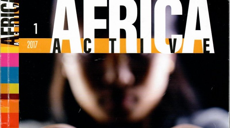 """Cover of """"Africa Active,"""" issue number one."""