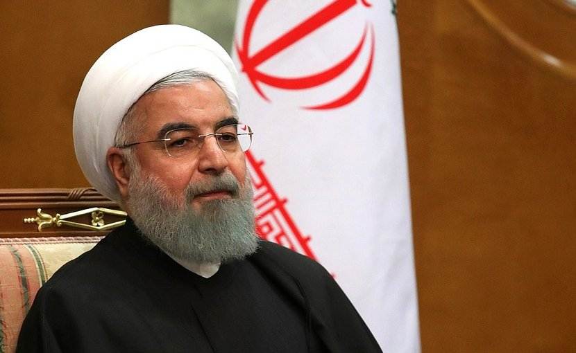 President of Iran Hassan Rouhani. Photo Credit: Kremlin.ru