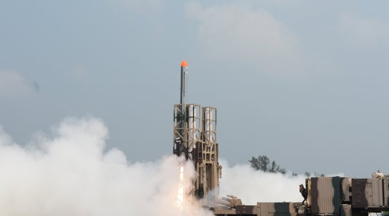 Launch of India's Nirbhay missile. Photo Credit: DRDO