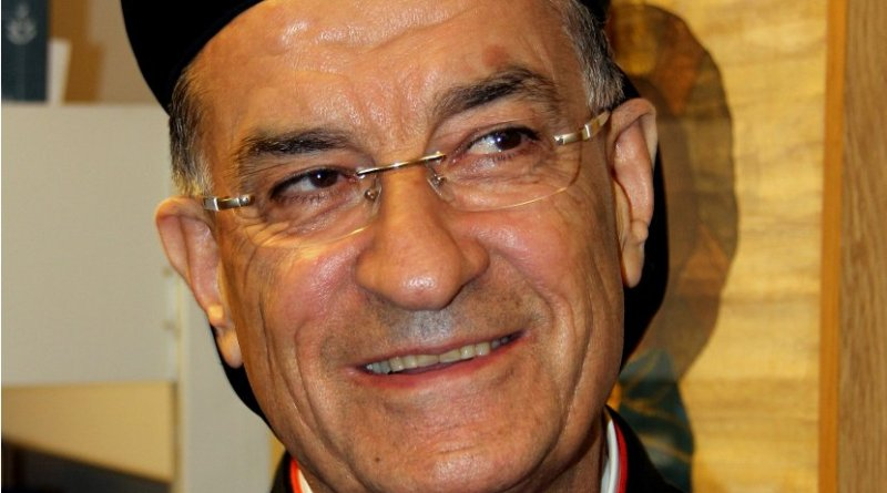 Cardinal Bechara Rai. Photo by Piotr Rymuza, Wikipedia Commons.