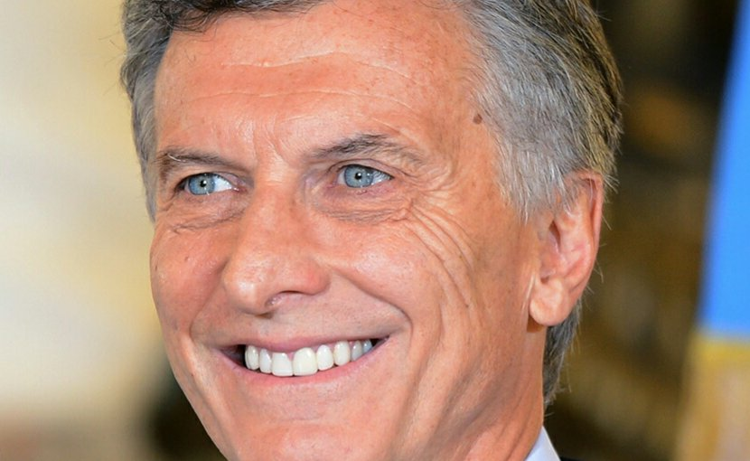 Argentina's Mauricio Macri. Source: Wikimedia Commons.