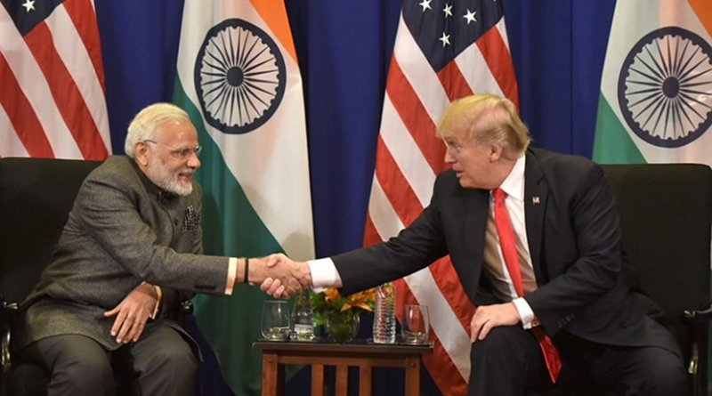 India's Prime Minister, Shri Narendra Modi meeting the President of United States of America (USA), Mr. Donald Trump, in Manila, Philippines. Photo Credit: India's PM Office.