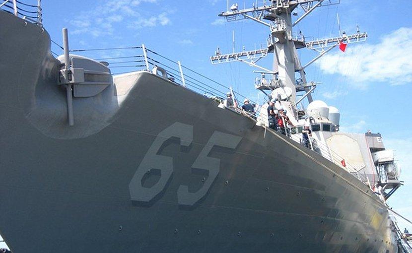File photo of USS Benfold. Photo by James E. Martin, Wikimedia Commons.