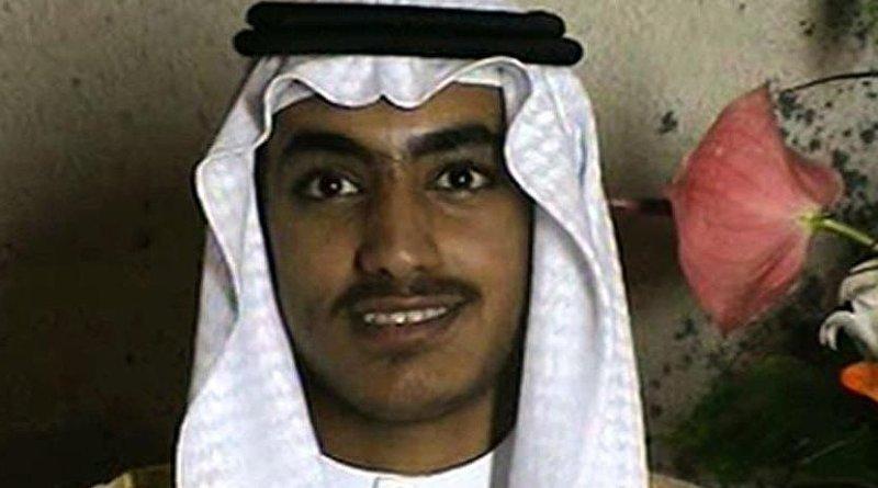Osama bin Laden's son Hamza. Credit: Screenshot from CIA video.
