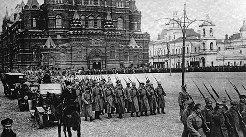 Russian Revolution of 1917. Source: Wikipedia Commons.