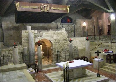 The Basilica of the Annunciation, Nazareth. The Vatican seems to want to wrest Christian holy sites from the control of Muslim and Jewish governing authorities with a view toward internationalization.
