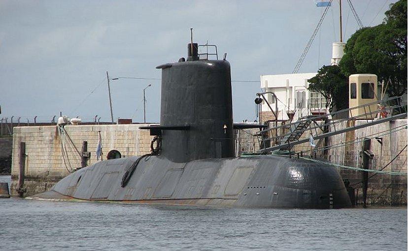 Argentina's submarine ARA San Juan. Photo by Martin Otero, Wikipedia Commons.