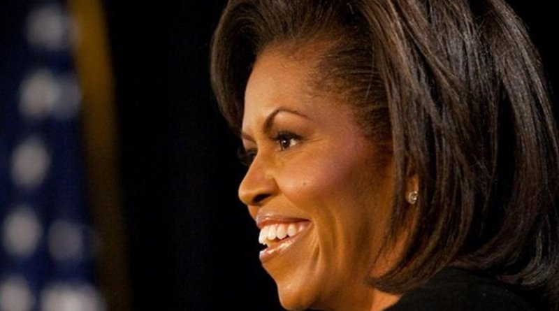 Michelle Obama. Photo by Joyce N. Boghosian, Wikimedia Commons.