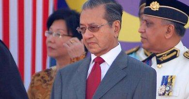 Malaysia's Mahathir Mohamad. Photo by amrfum, Wikimedia Commons.