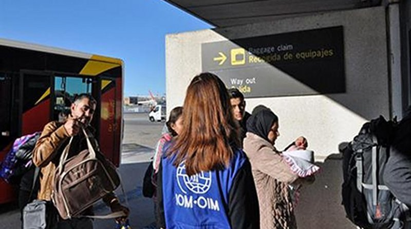 Spain receives Syrian refugees. Photo Credit: Ministerio de Interior