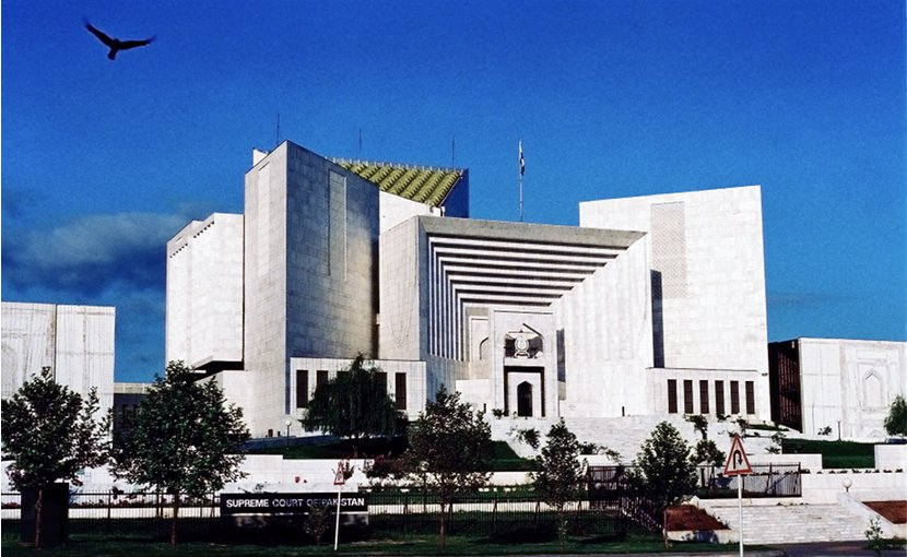 Supreme Court of Pakistan. Photo by Usman.pg, Wikipedia Commons.