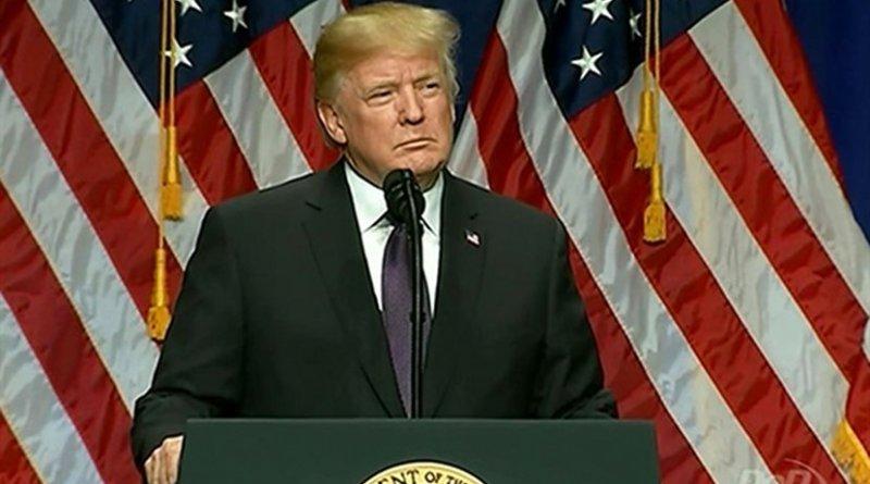 US President Donald Trump. Source: DoD Video