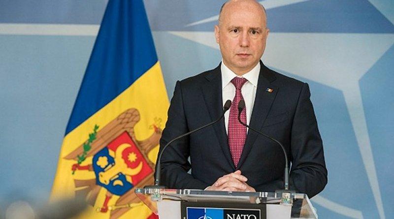Moldova's Prime Minister Pavel Filip. Photo: Flickr/NATO
