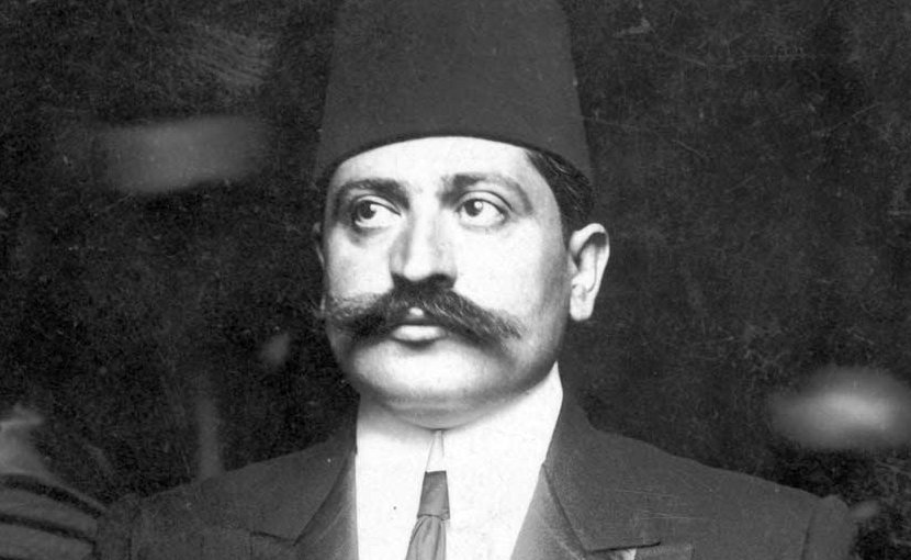 """On August 12, 1918, Grand Vizier Talaat Pasha issued an official Ottoman declaration expressing sympathy """"for the establishment of a religious and national Jewish center in Palestine by well- organized immigration and colonization."""""""