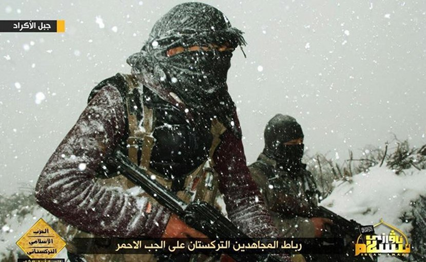 Turkistan Islamic Party (TIP) Fighters featured in propaganda