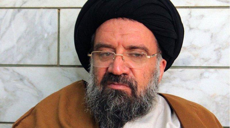 Iran's Ayatolllah Seyyed Ahmad Khatami. Photo by Mostafameraji, Wikipedia Commons.