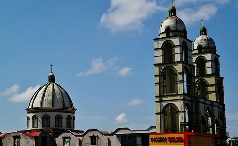 Saint Sebastian Church, Villahermosa, Tabasco state, Mexico. Photo by Enrique López-Tamayo Biosca, Wikimedia Commons.