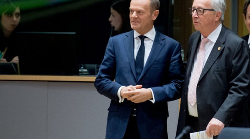Jean-Claude Juncker and Donald Tusk. Photo credit European Commission.
