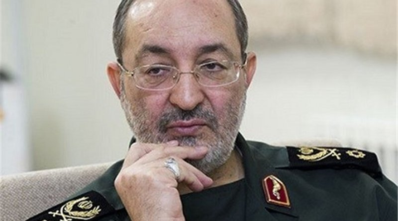 Deputy Chief of Staff of the Iranian Armed Forces Brigadier General Massoud Jazayeri. Photo Credit: Tasnim News Agency.