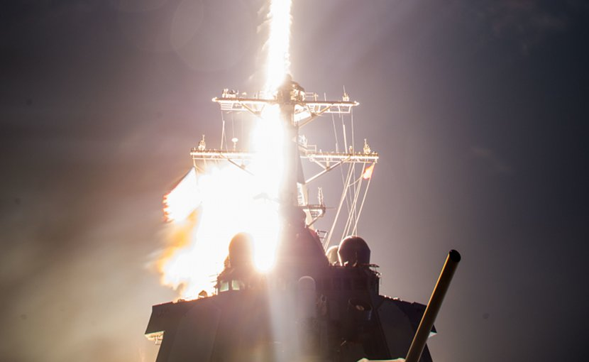 The U.S. Missile Defense Agency (MDA), the Japan Ministry of Defense (MoD), and U.S. Navy sailors aboard USS John Paul Jones (DDG 53) successfully conducted a flight test, resulting in the first intercept of a ballistic missile target using the Standard Missile-3 (SM-3) Block IIA off the west coast of Hawaii. MDA file photo.