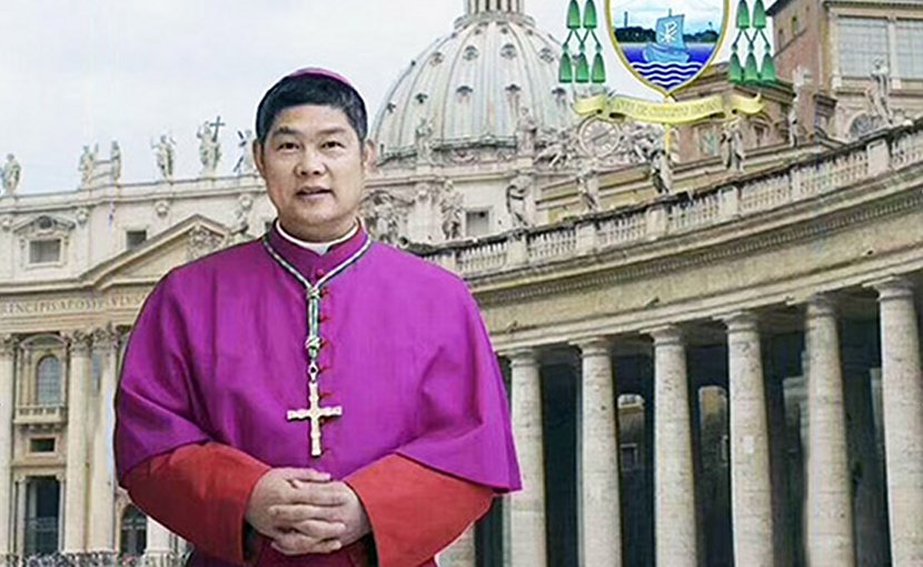 Bishop Peter Shao Zhumin of Wenzhou was released Jan. 3 after seven months in detention. (Photo supplied via UCAN)