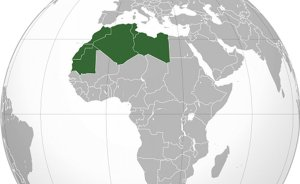 Maghreb countries of Algeria, Libya, Morocco, Mauritania and Tunisia. Source: Wikipedia Commons.