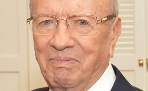 Tunisia's President Beji Caid Essebsi. Photo Credit: US State Department, Wikipedia Commons.