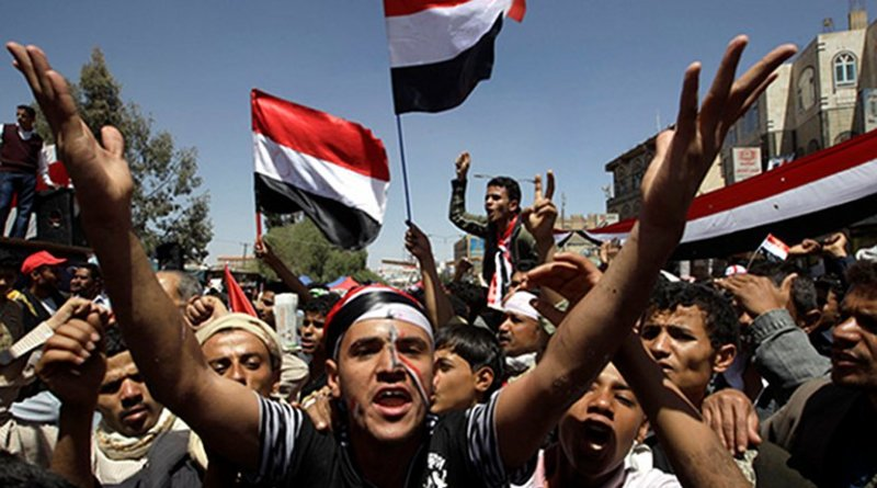 Seeking peace in Yemen. Photo credit: Voices for Creative Nonviolence (www.vcnv.org)