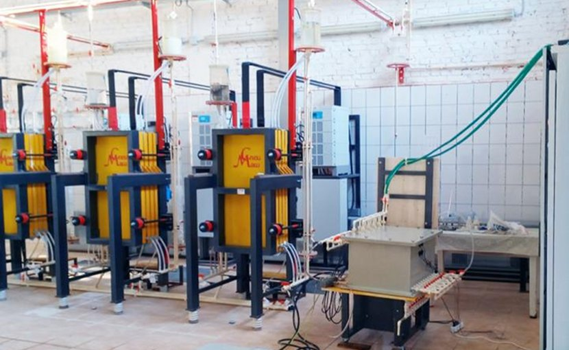 Specialists of (SPbPU),developed a unique equipment for complex water purification. Credit Peter the Great St. Petersburg Polytechnic University