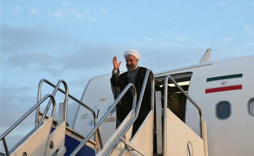 Iranian President Hassan Rouhani. Photo Credit: Tasnim News Agency.