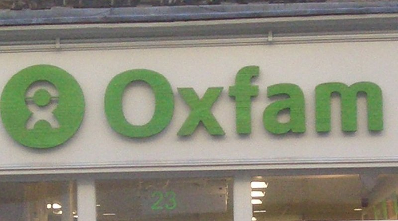 Oxfam storefront. Source: WIkimedia Commons.