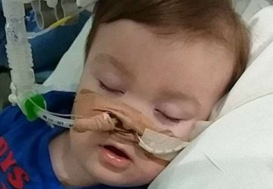 Alfie Evans. Photo courtesy of Alfie's Army Facebook.