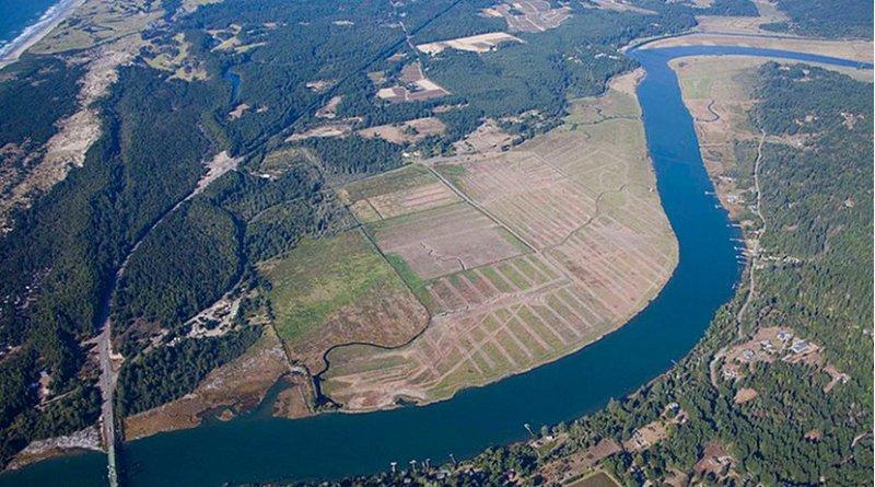 Bandon (Oregon) Marsh National Wildlife Refuge. Photo: Roy W. Lowe for the U.S. Fish and Wildlife Service, Pacific Region's