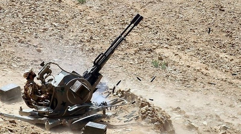 Iran war games. Photo by Tasnim News Agency.