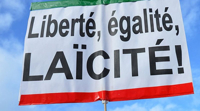 Same-sex marriage equality demonstration in Paris, France. Photo by Vassil, Wikimedia Commons.