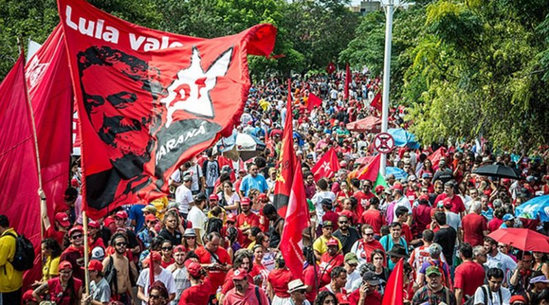 Demonstration in Brazil. Photo by Anselmo Cunha, Flickr