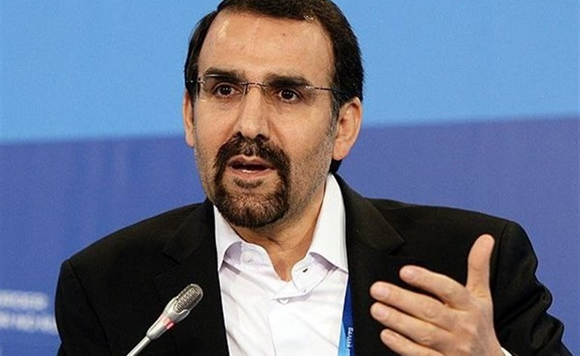 Iran's Ambassador to Moscow Mehdi Sanaei. Source: Tasnmim News Agency.