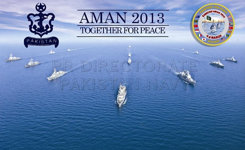 Aman 2013. Credit: Pakistan Defense Ministry.