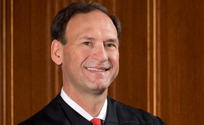 Portrait of U.S. Supreme Court Associate Justice Samuel Alito. Photographer: Steve Petteway, Wikipedia Commons.