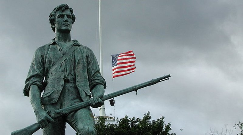Statue of Minute Man National Historical Park. Photo by Aldaron, Wikimedia Commons.