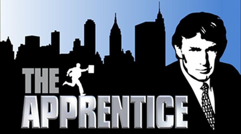 """Logo for the TV show """"The Apprentice""""."""