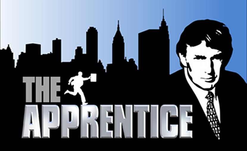 "Logo for the TV show ""The Apprentice""."