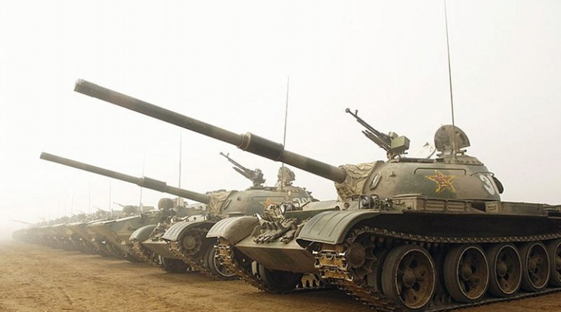 File photo of Chinese tanks. Photo by Staff Sgt. D. Myles Cullen (USAF).